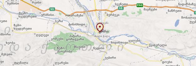 Carte Gori - Géorgie