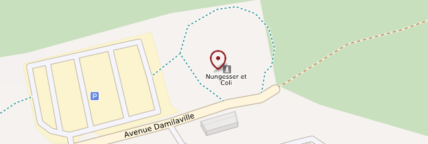 Carte Monument Nungesser et Coli - Normandie