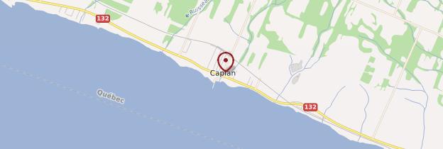 Carte Caplan - Québec
