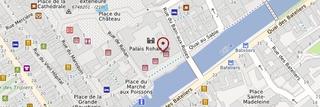 Carte Palais Rohan - Strasbourg