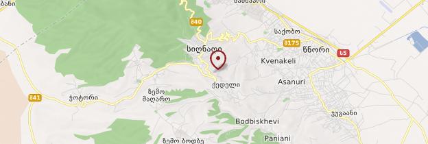 Carte Sighnaghi - Géorgie