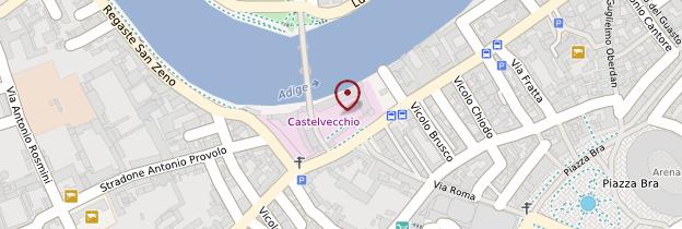 Carte Castelvecchio - Italie
