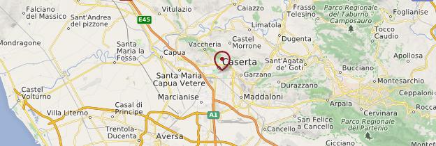 Carte Caserta - Italie