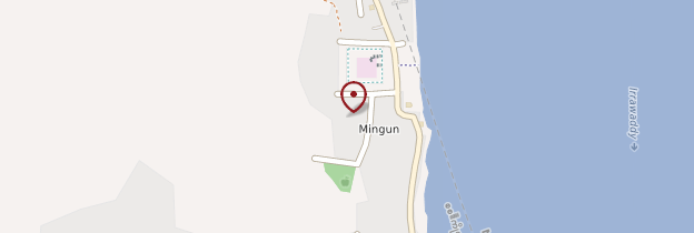 Carte Mingun - Birmanie
