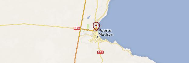Carte Puerto Madryn - Patagonie