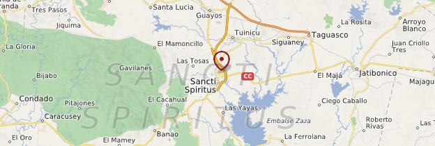 Carte Sancti Spiritus - Cuba
