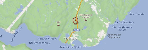 Carte Tadoussac - Québec