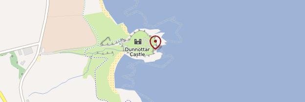 Carte Dunnottar Castle - Écosse
