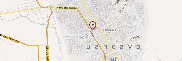 Carte Huancayo - Pérou