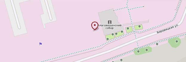 Carte Kremlin - Moscou