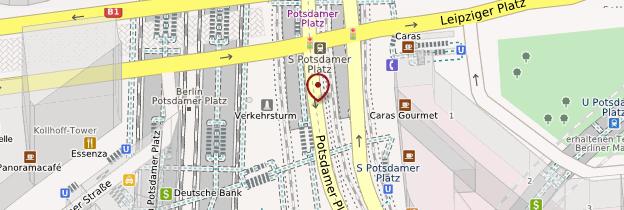 Carte Potsdamer Platz - Berlin