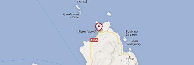 Carte Duntulm - Écosse