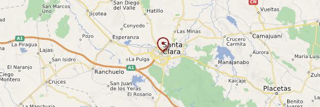 Carte Santa Clara - Cuba