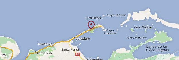 Carte Varadero - Cuba