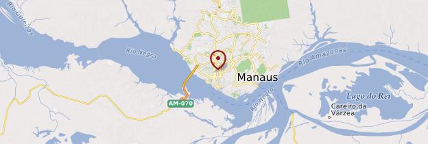 Carte Manaus - Brésil