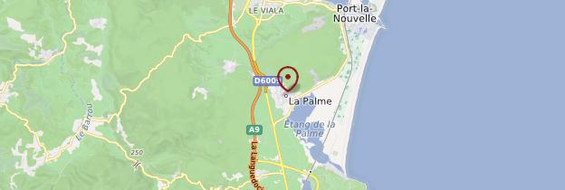 Carte La Palme - Languedoc-Roussillon