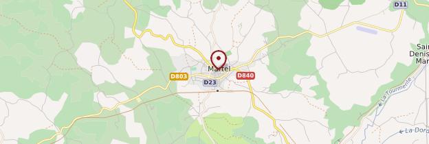 Carte Martel - Midi toulousain - Occitanie