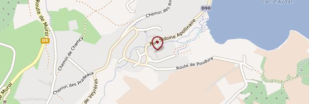 Carte Aydat - Auvergne