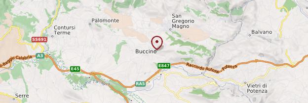 Carte Buccino - Italie