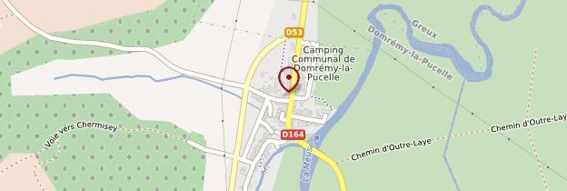 Carte Domrémy-la-Pucelle - Lorraine