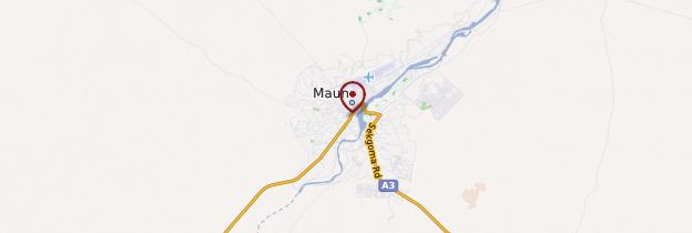 Carte Maun - Botswana