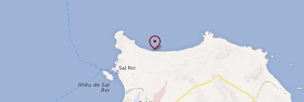 Carte Praia da Atalanta - Cap-Vert
