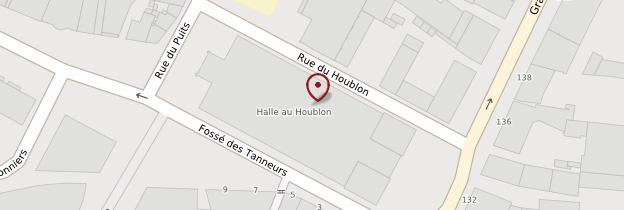 Carte Halle aux houblons - Alsace