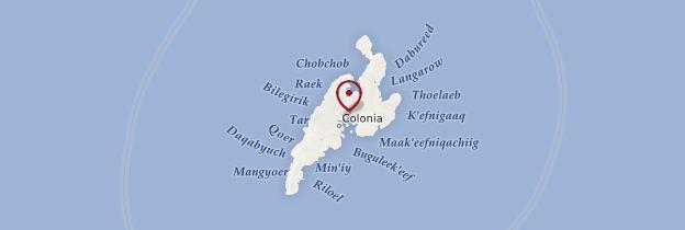 Carte Yap - Micronésie