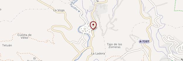 Carte Archez - Andalousie