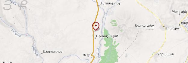 Carte Artashavan - Arménie