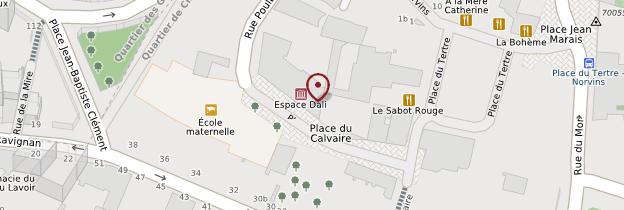 Carte Dalí Paris - Paris
