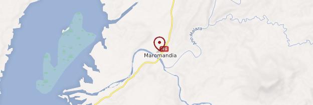 Carte Maromandia - Madagascar