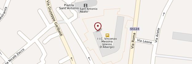 Carte Palazzo Iudica - Sicile