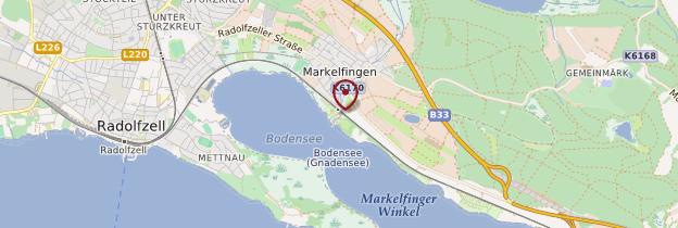 Carte Markelfingen - Allemagne
