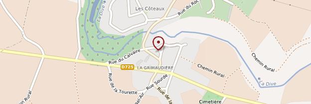 Carte La Grimaudière - Poitou, Charentes