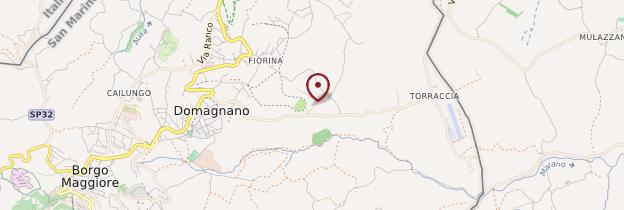 Carte Domagnano - Italie