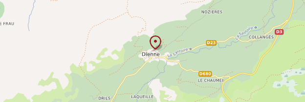 Carte Dienne - Auvergne