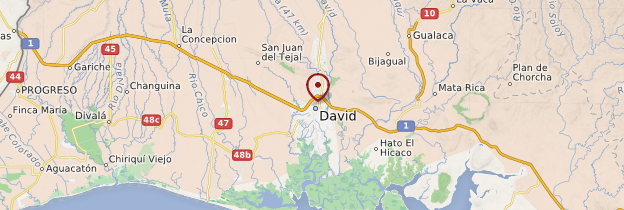 Carte David - Panama
