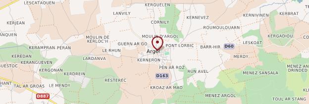 Carte Argol - Bretagne