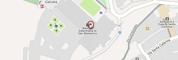 Carte Basilica Cateriniana di San Domenico - Toscane