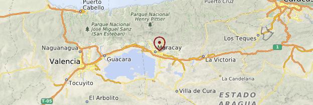 Carte Maracay - Venezuela