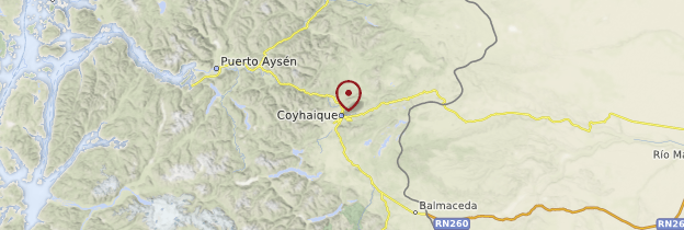 Carte Coyhaique - Chili