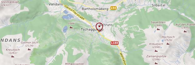 Carte Montafon - Autriche