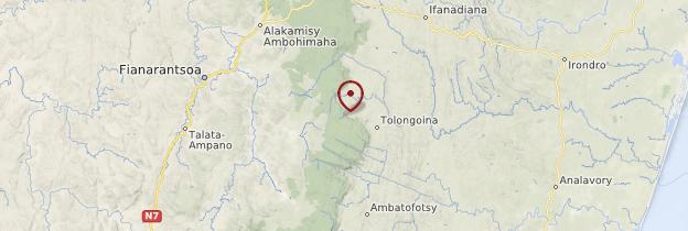 Carte Andrambovato - Madagascar