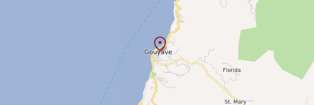 Carte Gouyave - Grenade
