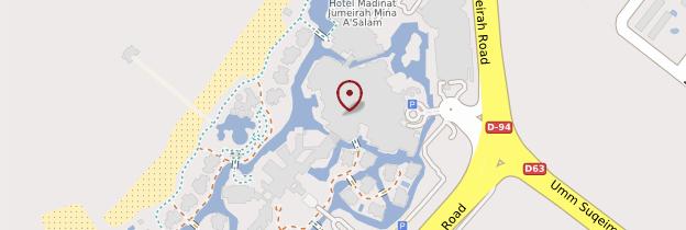 Carte Complexe Madinat Jumeirah - Dubaï