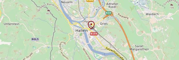 Carte Hallein - Autriche