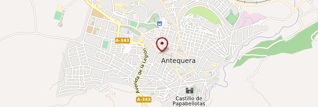 Carte Antequera - Andalousie