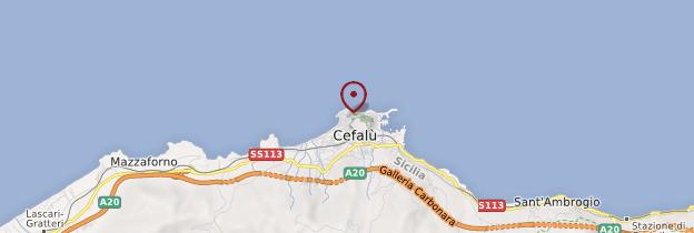 Carte Cefalù - Sicile