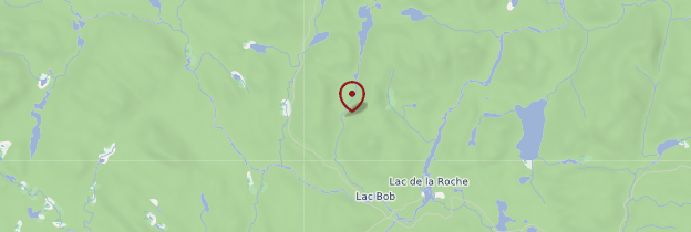 Carte Parc des Grands-Jardins - Québec